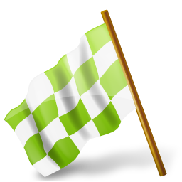 base, chartreuse, chequered, flag, hats, left, map, marker icon