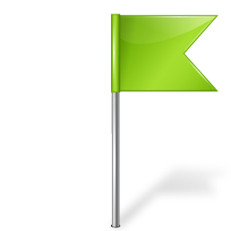 base, chartreuse, flag, map, marker, right, sketchicons icon