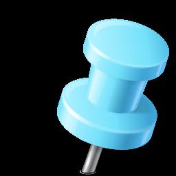 azure, base, hydropro, map, marker, pin, push, right icon