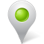 base, chartreuse, inside, map, marker, socialmediabookmark icon