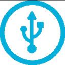 mb, usb icon