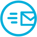 mail, mb, sent icon