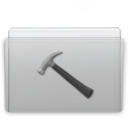 developer, folder, graphite icon