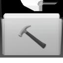 developer, folder, graphite icon