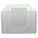 documents, folder, graphite icon