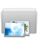 folder, graphite, picture icon