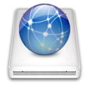 idisk, network icon