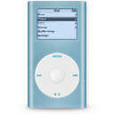 blue, ipod, mini