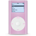 ipod, mini, pink icon