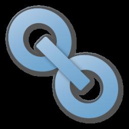 http://cdn1.iconfinder.com/data/icons/Siena/256/hyperlink%20blue.png