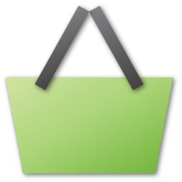 Basket, green, shopping icon | Icon search engine Shopping Basket Icon Png