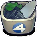 fantastic, trash icon