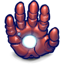 hand, ironman icon