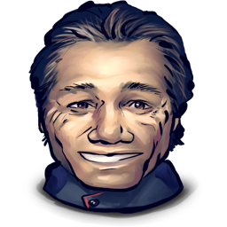 adama, captain, for, reason, smiling, some icon