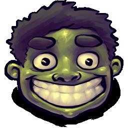 happy, hulk icon