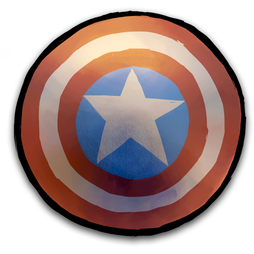 cap, shield icon