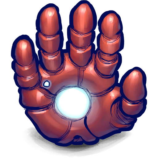 hand, ironman icon