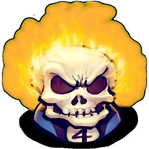 blaze, johny icon