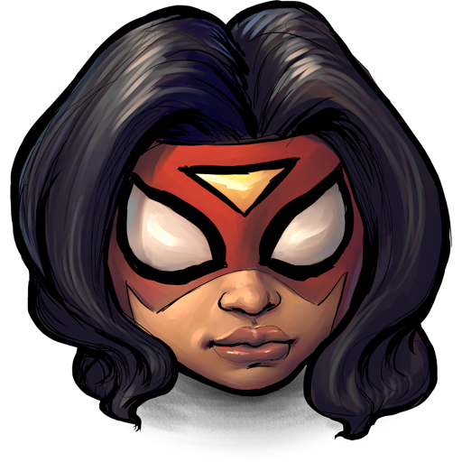 spider, woman icon