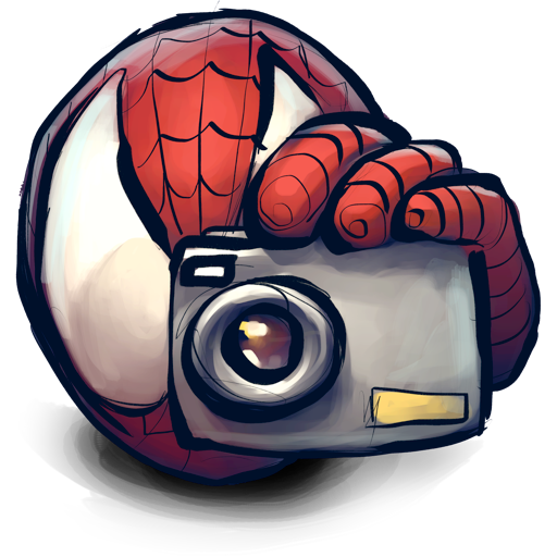 dslr, for, has, no, room, spidey icon