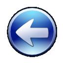 arrow, back, blue left, circle arrow, go back, left, prev, previous