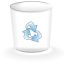 empty-alt, trashcan icon