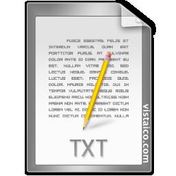 .txt Txt icon | Icon search engine