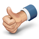 like, thumbs, thumbs up, up, vote icon