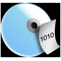 data, disc icon