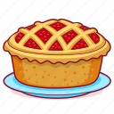 bakery, bread, dessert, food, pie, thanksgiving icon