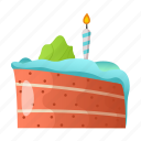 cake, dessert, food, fun, holiday, party, sweet icon
