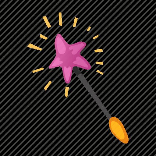 birthday, fun, holiday, magic, magic wand, party, star icon