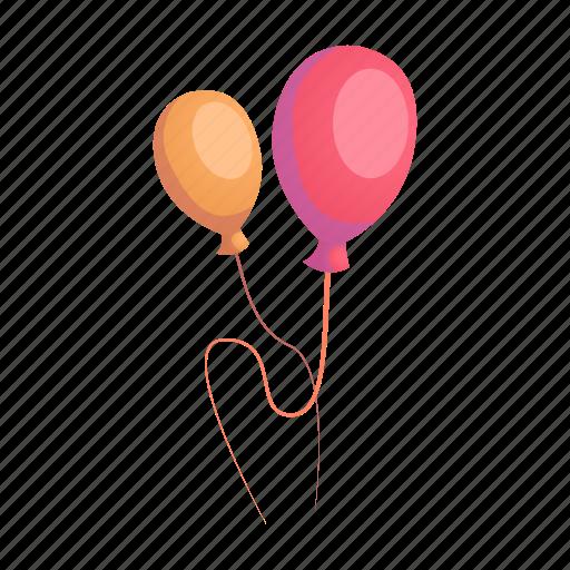 air balloon, birthday, decoration, fun, holiday, party icon