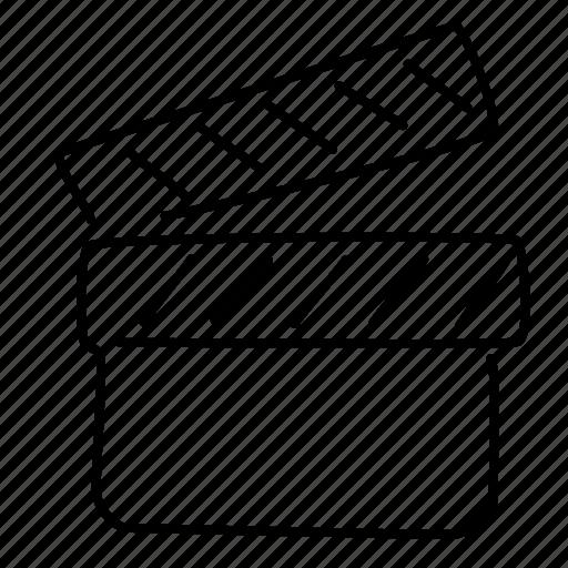 Cinema, clapper, entertainment icon - Download on Iconfinder