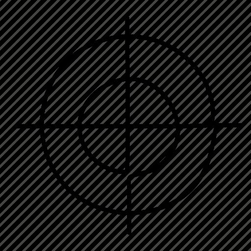 aim, archery, bullseye, sport, target icon