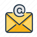 email, envelope, letter, mail, message, send, subscribe icon
