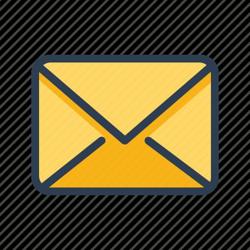 Email, envelope, inbox, letter, send icon - Download on Iconfinder