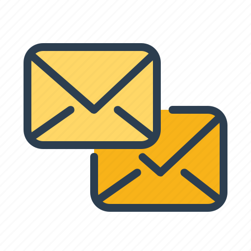 chat, communication, emails, envelope, letters, messages, send icon