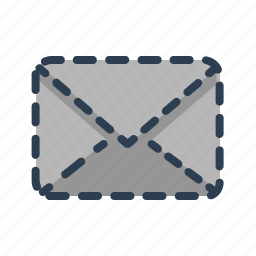 deleted, email, envelope, letter, mail, message, missing icon