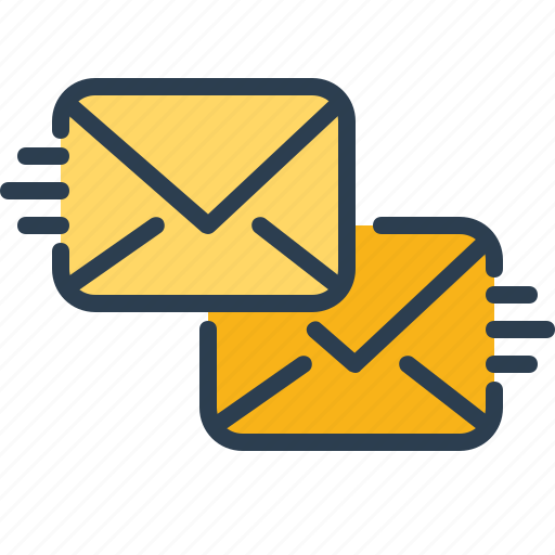 chat, communication, letters, send icon