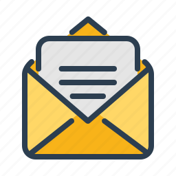email, envelope, letter, mail, message, newsletter, text icon