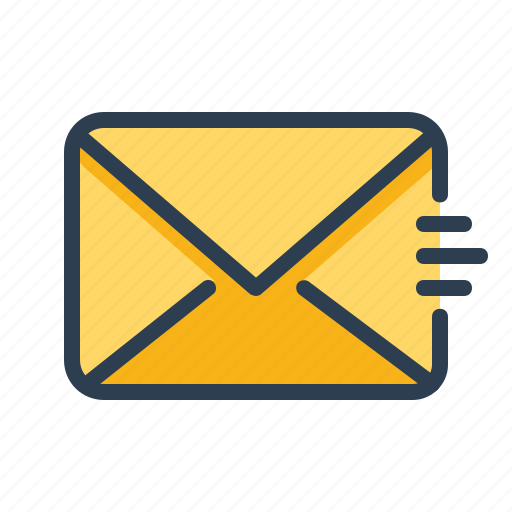 contact, email, envelope, letter, mail, post, send icon