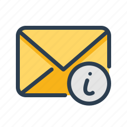 email, envelope, info, letter, mail, manuals, message icon