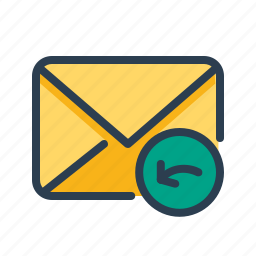 email, envelope, inbox, letter, mail, message, recieve icon