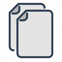 copy, dicument, duplicate, file, history, manuals, transaction icon