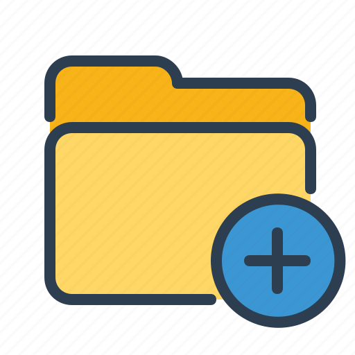 Add, files, folder, new icon - Download on Iconfinder