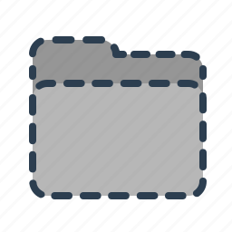 documents, files, folder, hidden, invisible, missing, removed icon