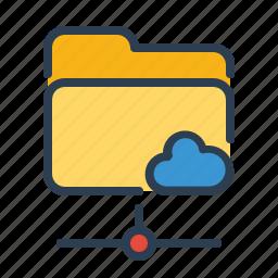 documents, files, folder, online, public, shared, storage icon