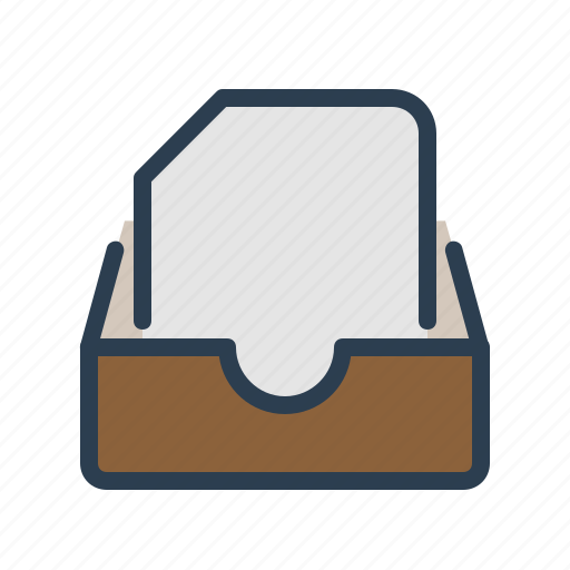 archieve, document, drawer, folder icon