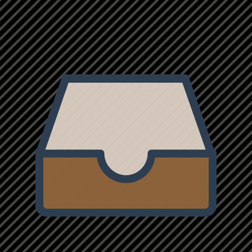 archieve, documentation, drawer, folder, inbox, library, storage icon